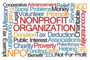 Nonprofit Organization Word Cloud